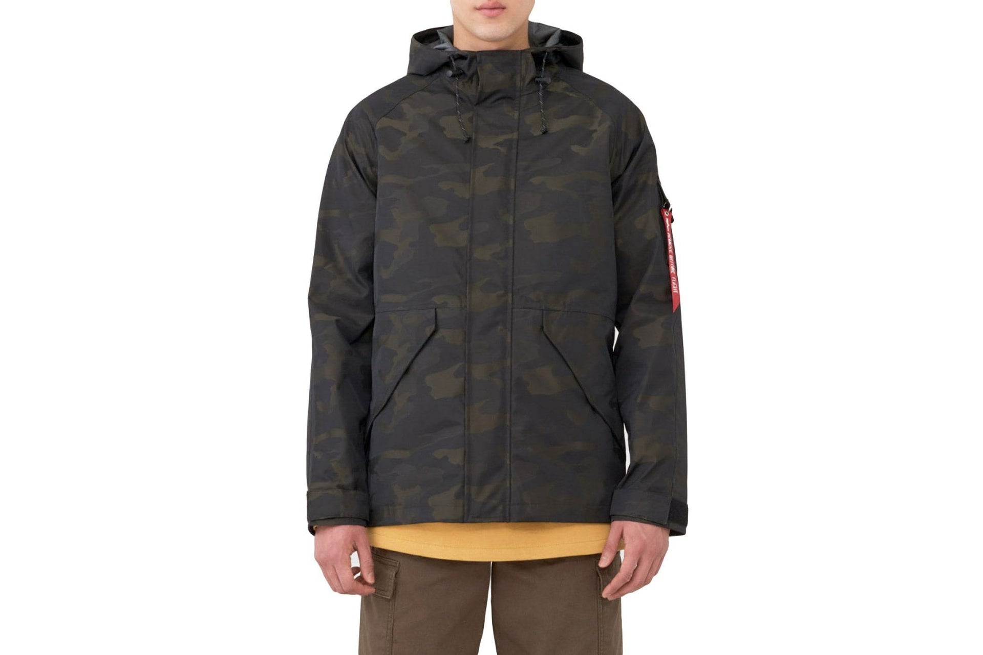 ECWCS TORRENT CAMO - MJE48002C1-974 MENS SOFTGOODS ALPHA INDUSTRIES