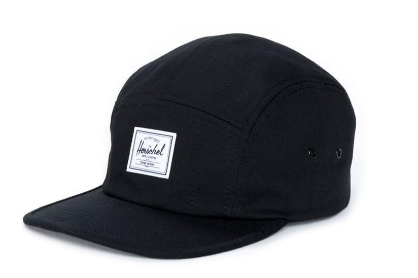 GLENDALE C HATS HERSCHEL BLACK ONE SIZE
