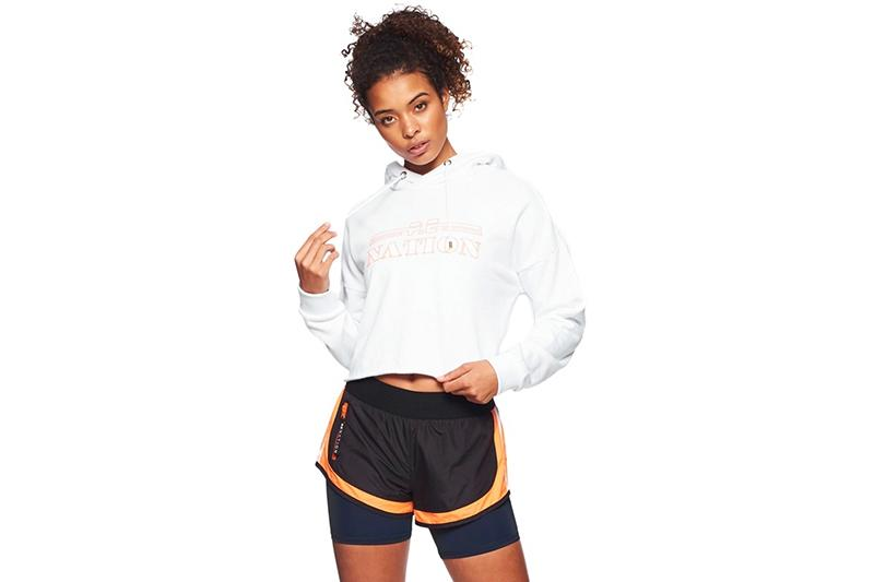 HOT STREAK HOODIE - 18PE4H076 WOMENS SOFTGOODS P.E NATION