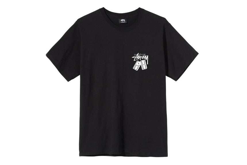 DOMINOES TEE - 1904570 MENS SOFTGOODS STUSSY