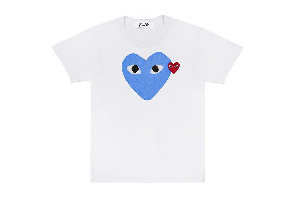 BIG BLUE HEART - AZT106 MENS SOFTGOODS COMME DES GARCONS