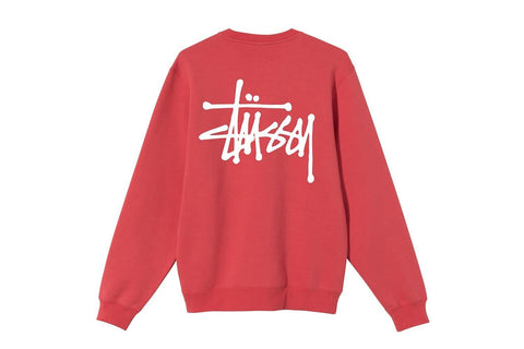 BASIC STUSSY CREW - 1914567 MENS SOFTGOODS NRML