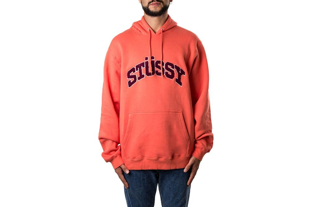CHENILLE ARCH APP HOOD - 118336 MENS SOFTGOODS STUSSY
