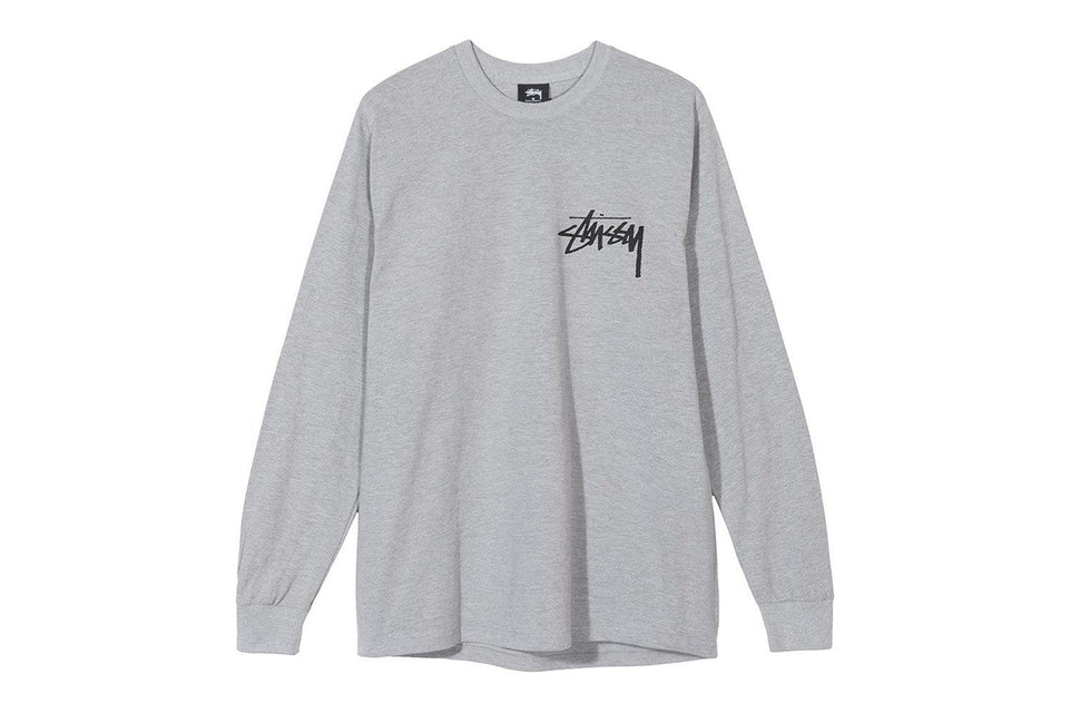 STOCK LS TEE - 1994365 MENS SOFTGOODS STUSSY