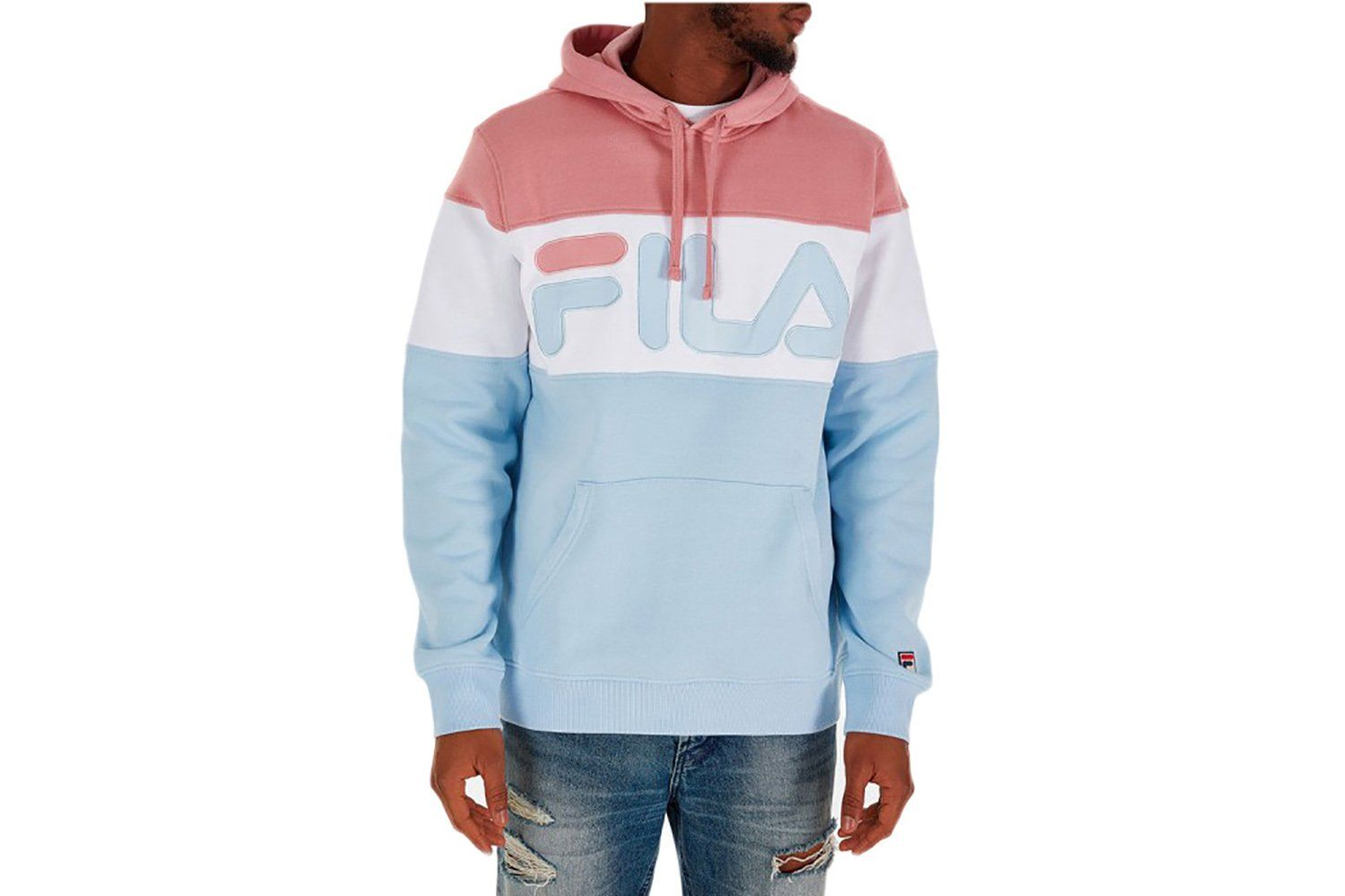 13827d1ab6d1 FLAMINO FLEECE HOODY - LM183420-967 MENS SOFTGOODS FILA