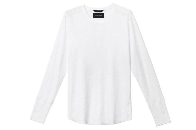 1X1 SLUB RIB L/S CREWNECK MENS SOFTGOODS WINGS+HORNS WHITE S