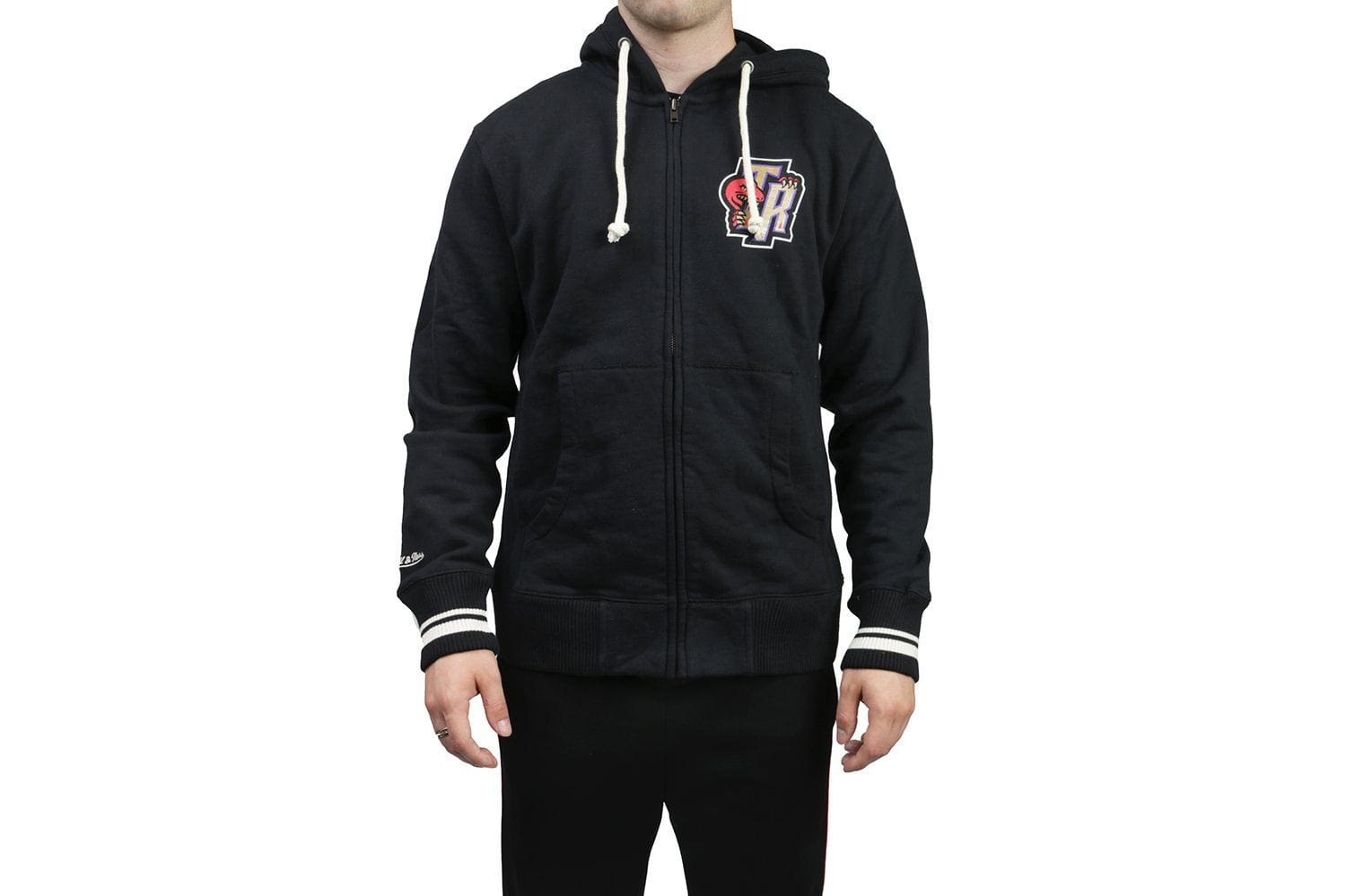 RAPTORS RESPECT THE NORTH TR ZIP HOODIE MENS SOFTGOODS MITCHELL & NESS