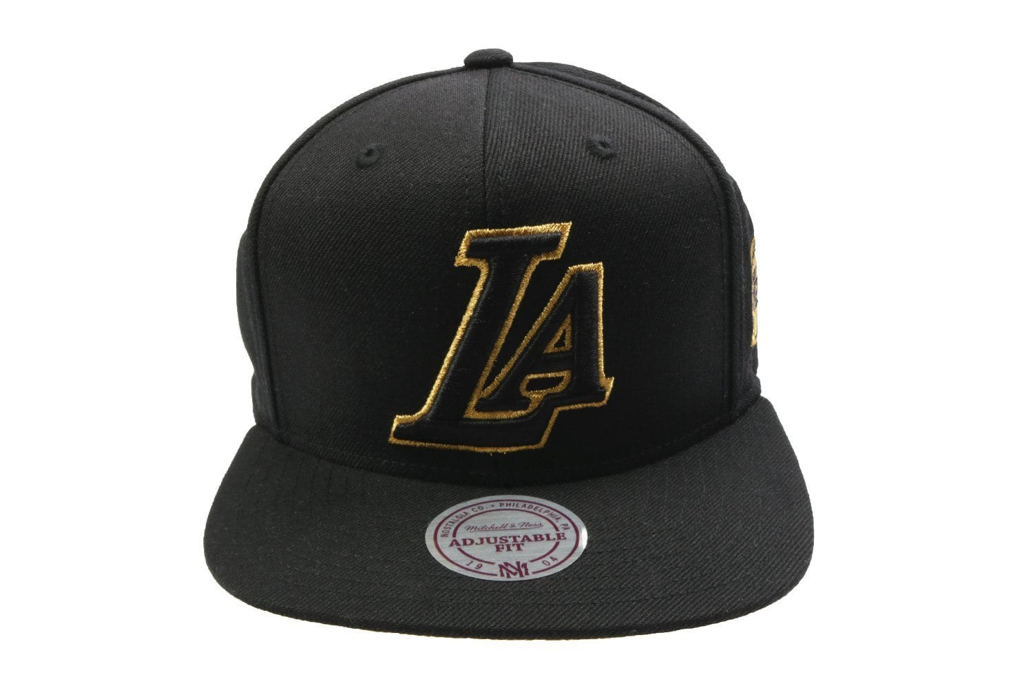 NBA LA GOLD SNB HATS MITCHELL & NESS