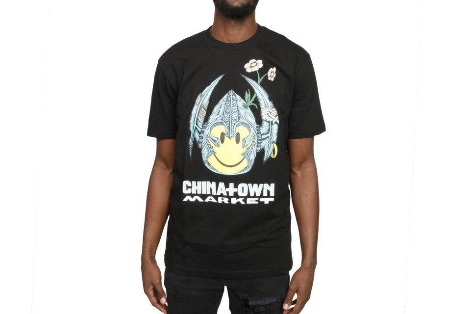 SMILEY BONES T-SHIRT - CTMF19-BSSS MENS SOFTGOODS CHINATOWN MARKET