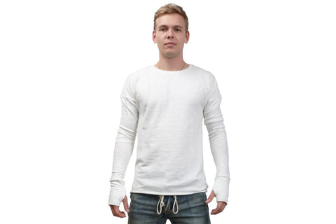 CONCAVE LONG SLEEVE - CLL01 MENS SOFTGOODS KOLLAR WHITE S