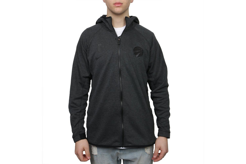 SMALL RAPTORS LOGO DRY FIT ZIP - AT8686-032 MENS SOFTGOODS NIKE