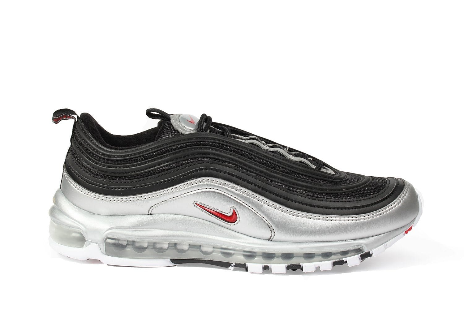 official photos ac05b 1ea3b NIKE AIR MAX 97 QS - AT5458-002 MENS FOOTWEAR NIKE BLACK VARSITY RED