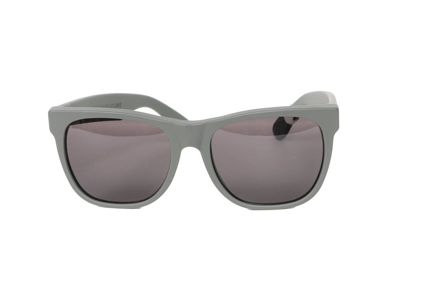 BASIC GREY MATTE SUNGLASSES SUNGLASSES SUPER