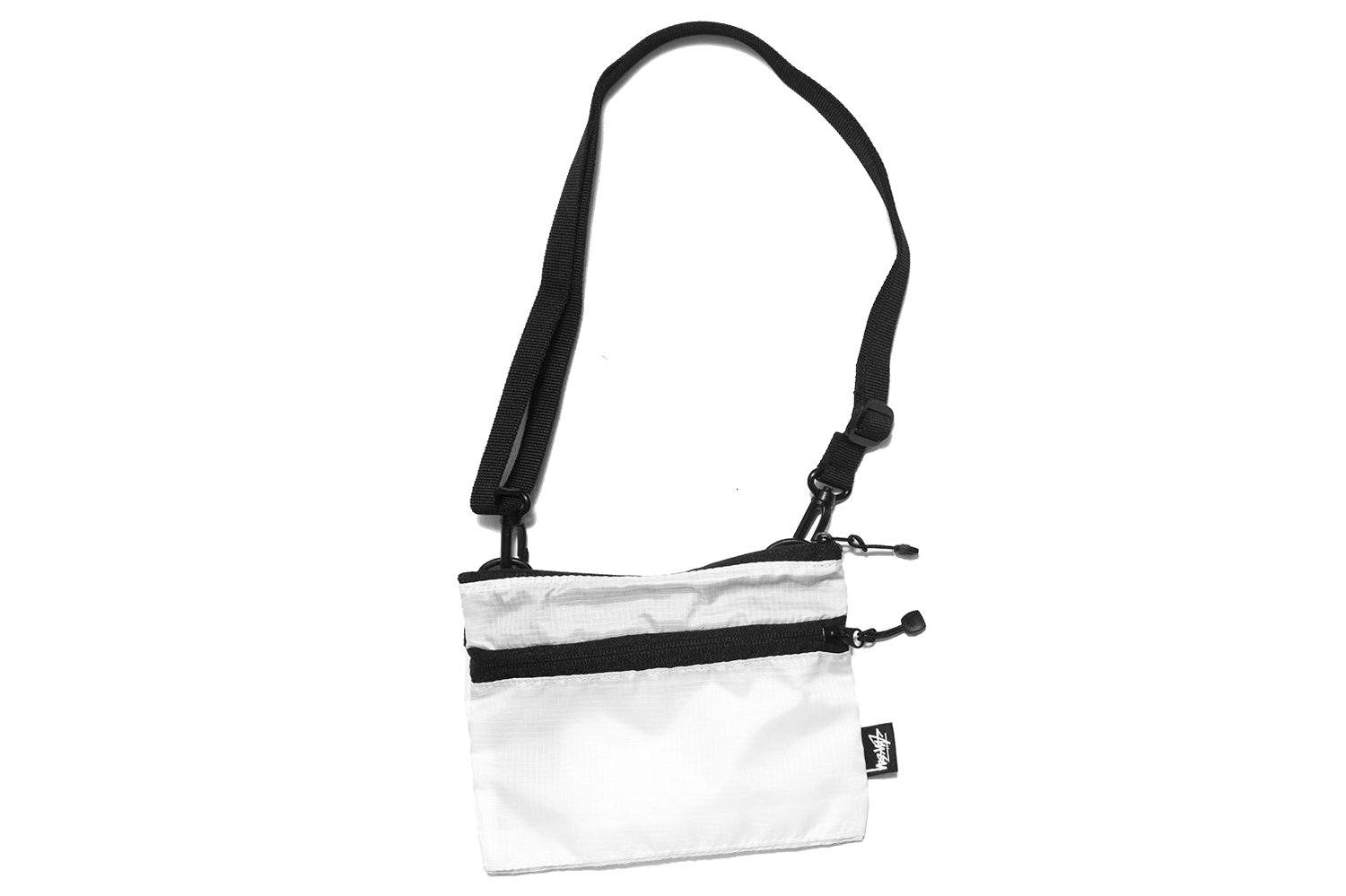 RIPSTOP POUCH- 334066 ACCESSORIES STUSSY WHITE OS