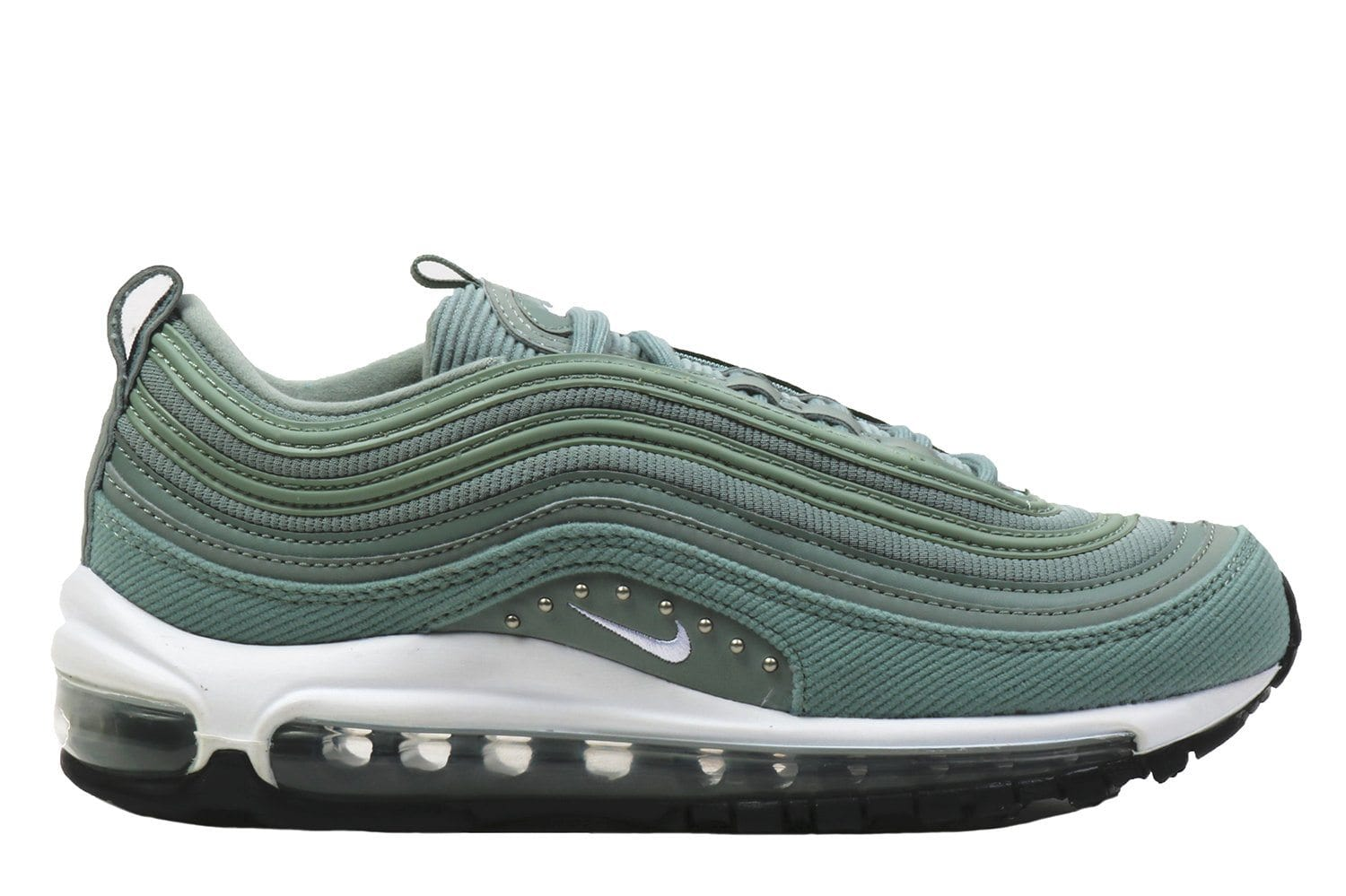 outlet store 9aa72 393b5 W AIR MAX 97 SE-AQ4137-300 WOMENS FOOTWEAR NIKE MICA GREEN WHITE