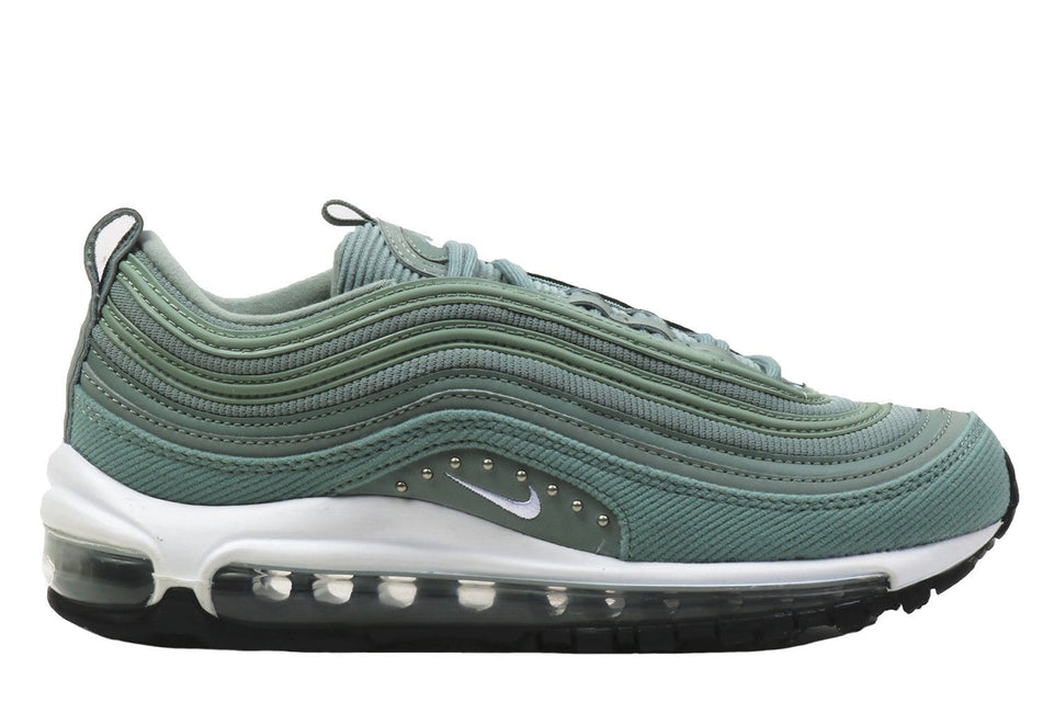 W AIR MAX 97 SE-AQ4137-300 WOMENS FOOTWEAR NIKE MICA GREEN/WHITE-BLACK 6