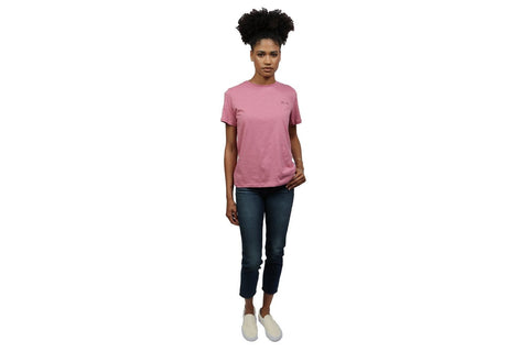 CALL ME TEE WOMENS SOFTGOODS NAKD XS PINK
