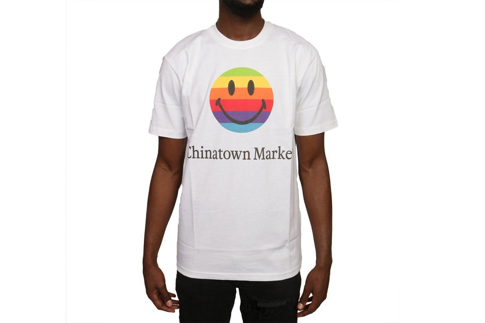 SMILEY APPLE T-SHIRT - CTMF19-SASS MENS SOFTGOODS CHINATOWN MARKET