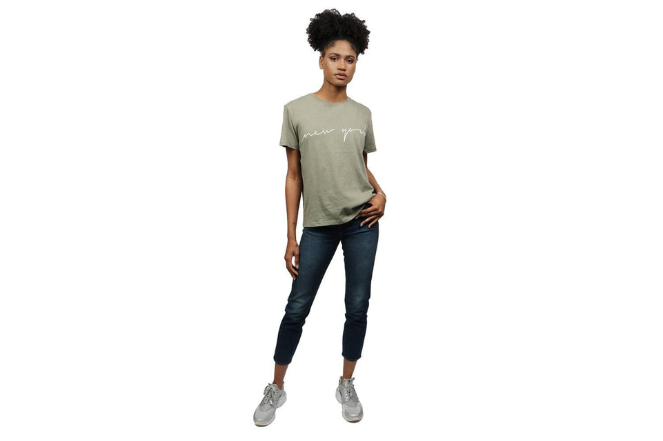 NEW YORK TEE WOMENS SOFTGOODS NAKD