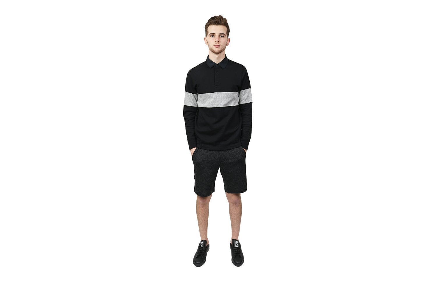 KNIT MIXED PILE SHORT - WI-5245 MENS SOFTGOODS WINGS+HORNS