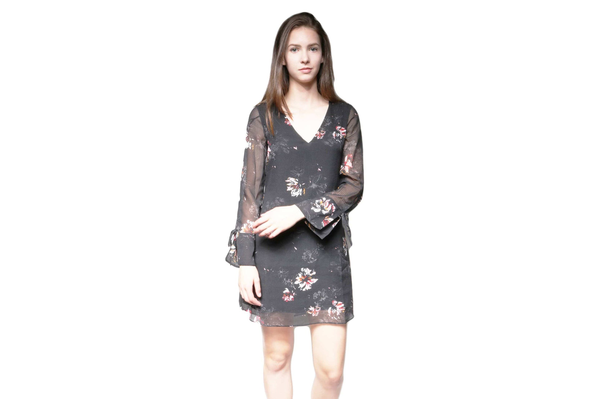 TATIANA WOMENS SOFTGOODS GENTLEFAWN BLACK FLASH FLORAL M