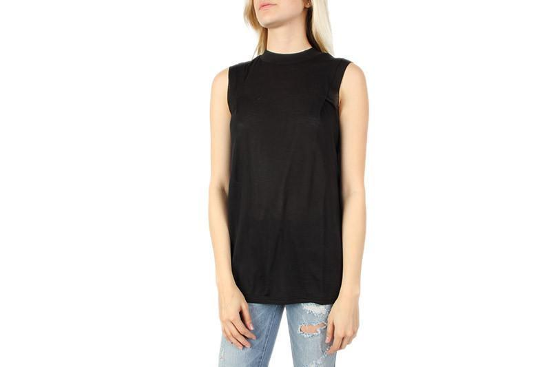 PIONEER TANK WOMENS SOFTGOODS CHEAP MONDAY BLACK S