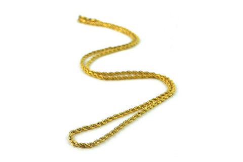 2.5MM ROPE CHAIN - GRO25MM JEWELRY THE GOLD GODS