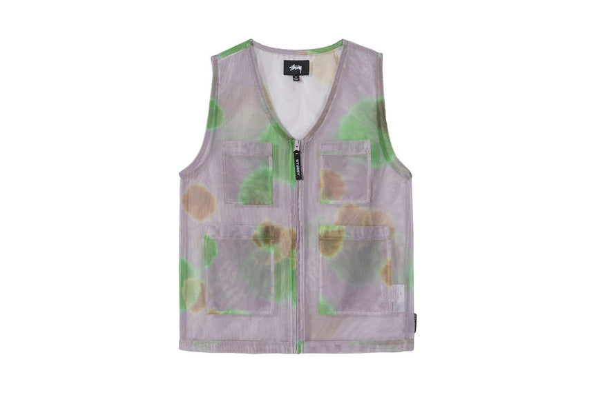 MESH LAYER VEST - 215131 WOMENS SOFTGOODS STUSSY
