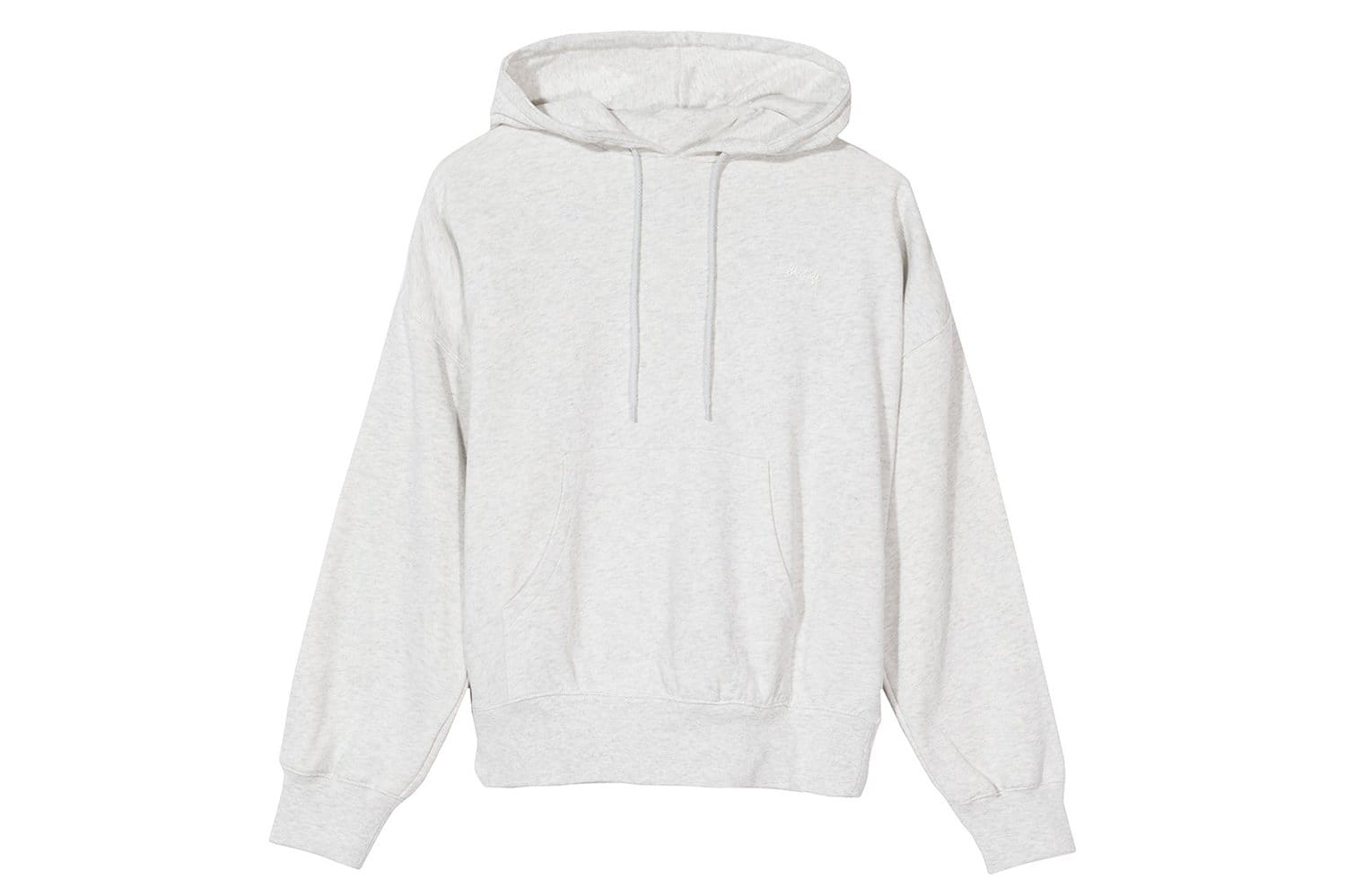 VIOLET FRENCH TERRY HOODIE - 218070 WOMENS SOFTGOODS STUSSY ASH HEATHER L
