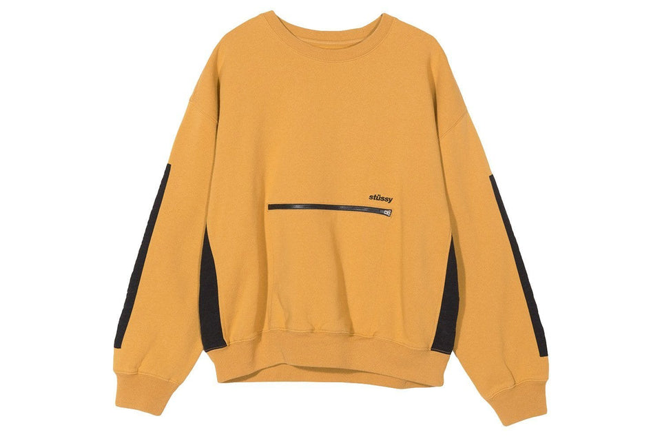 SIMONE POCKET FLEECE CREW - 218072 WOMENS SOFTGOODS STUSSY
