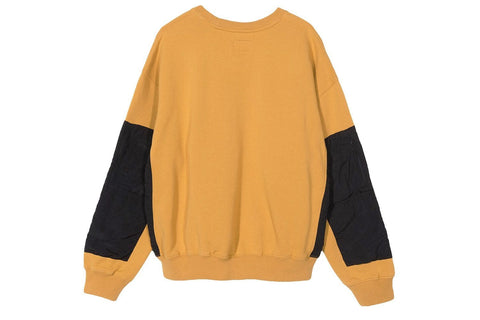 SIMONE POCKET FLEECE CREW - 218072