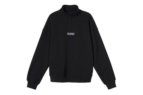 MOCK NECK HALF ZIP - 218096 WOMENS SOFTGOODS STUSSY