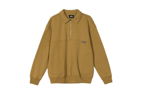 BACK PANELS HALF ZIP - 218107