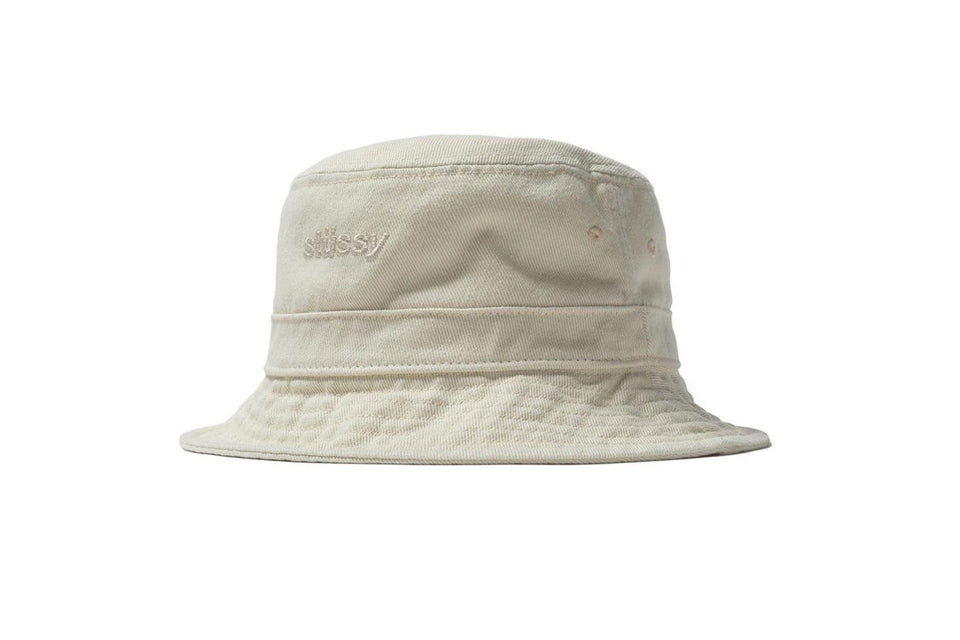 AURORA WASHED TWILL BUCKET HAT - 232212 WOMENS HATS STUSSY