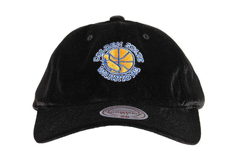 NBA GOLDEN STATE WARRIORS HWC VELOUR SLOUCH HAT