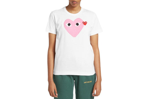 BIG PINK HEART - AZT105 WOMENS SOFTGOODS COMME DES GARCONS