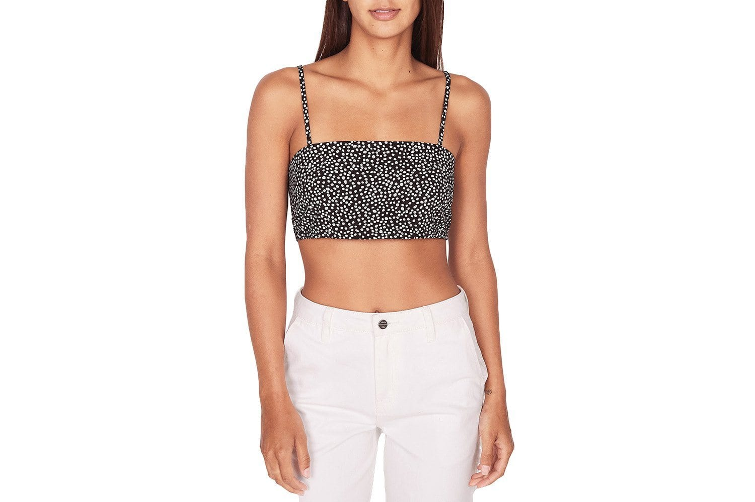 ALMA CROPPED TANK - 284050014 WOMENS SOFTGOODS OBEY