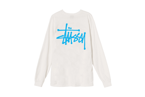 BASIC STUSSY PIG. DYED LS TEE - 2992657 WOMENS SOFTGOODS STUSSY