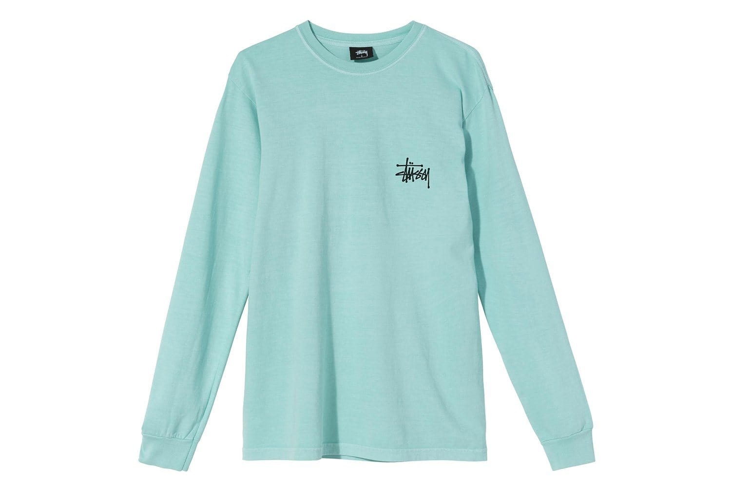 PEACE POT PIG. DYED LS TEE - 2992662 WOMENS SOFTGOODS STUSSY