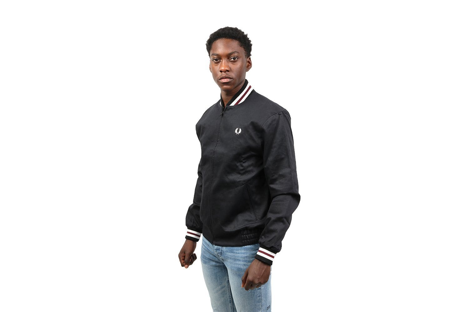 MIE ORIGINAL TENNIS BOMBER - J1307 MENS SOFTGOODS FRED PERRY