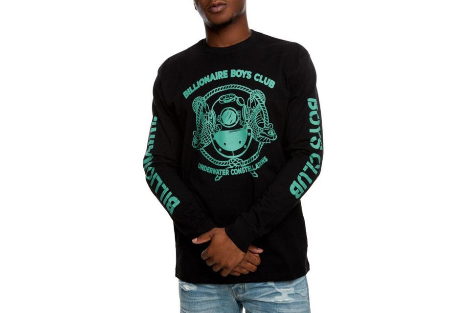 BB MISSION LS TEE - 891-7204 MENS SOFTGOODS BILLIONAIRE BOYS CLUB