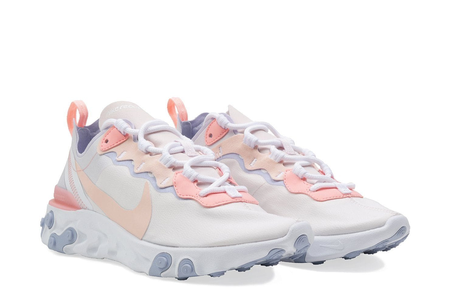W NIKE REACT ELEMENT 55 - BQ2728-601 WOMENS FOOTWEAR NIKE