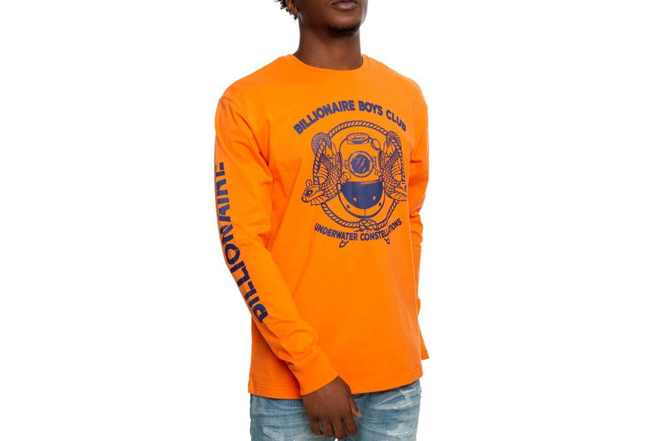 BILLIONAIRE BOYS CLUB ORANGE MISSION LS TEE.