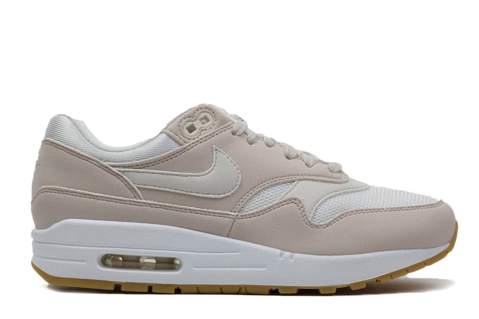 WMNS AIR MAX 1-319986-036 WOMENS FOOTWEAR NIKE DESERT SAND/PHANTOM-GUM LIGHT BROWN 5.5