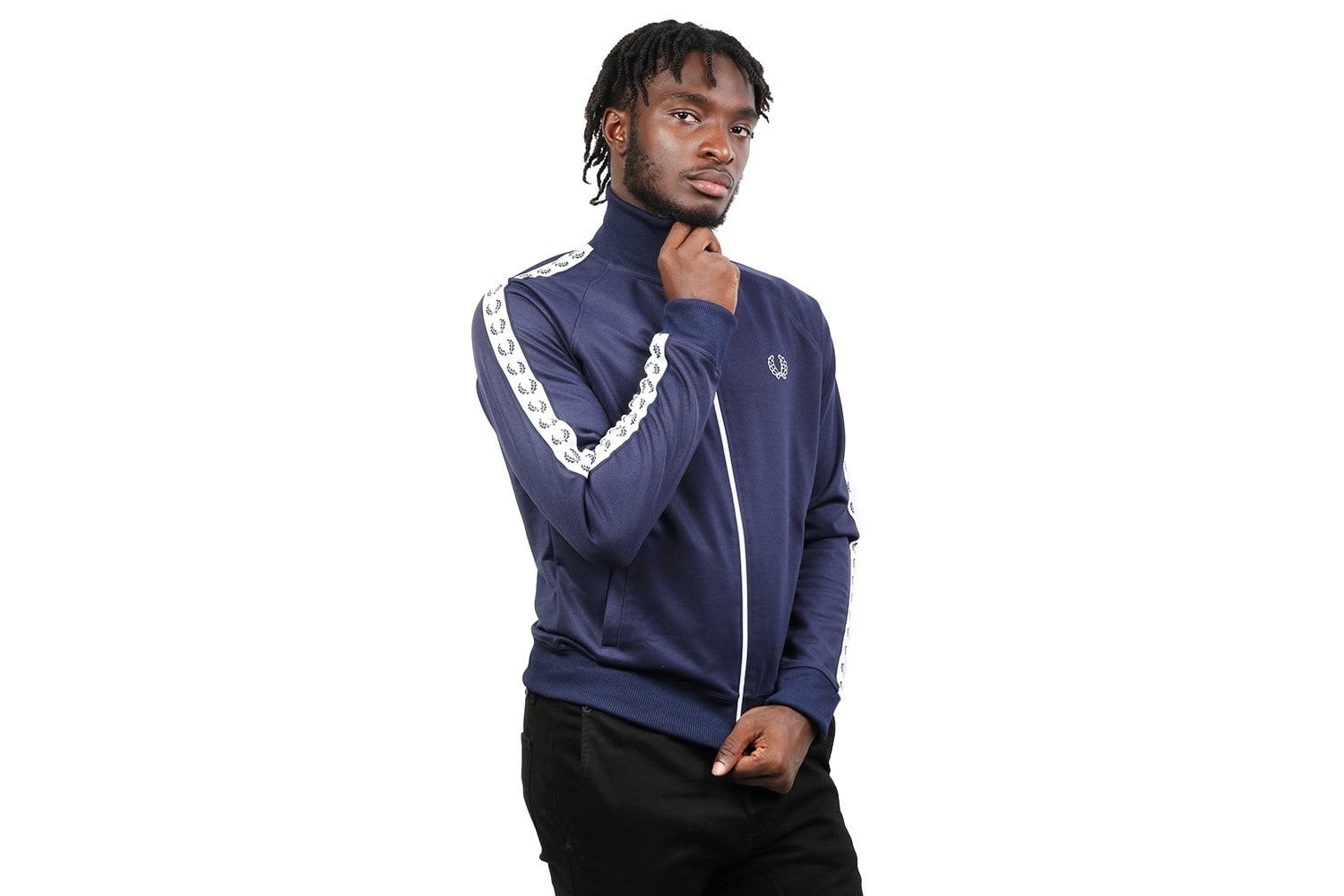 TAPED TRACK JACKET - J6231 MENS SOFTGOODS FRED PERRY