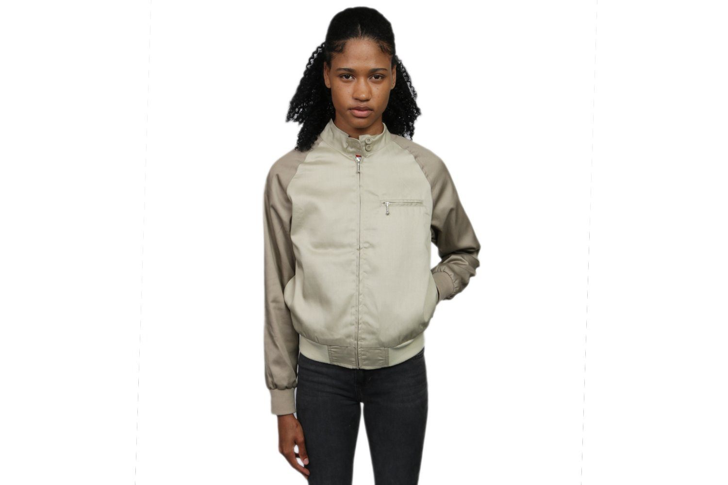 LOUISE TWO TONE HARRINGTON JKT - 215094 WOMENS SOFTGOODS STUSSY