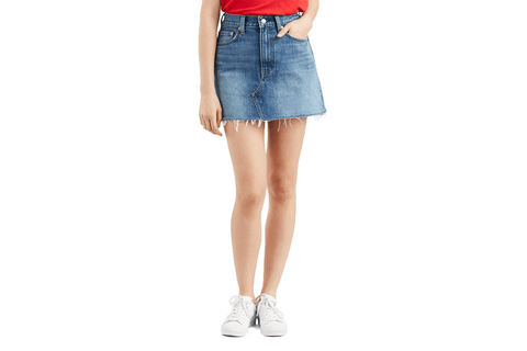 LEVI'S UNCONSTRUCTED SKIRT MIDDLE MAN WOMENS SOFTGOODS LEVIS