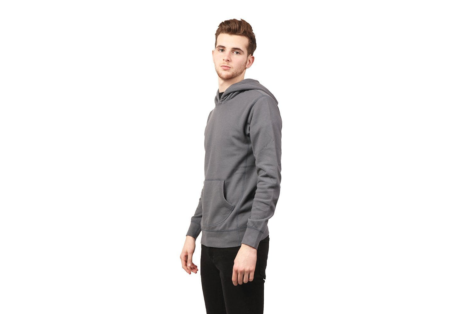 KNIT ORIGINAL HOODED PULLOVER - WI-3196 MENS SOFTGOODS WINGS+HORNS