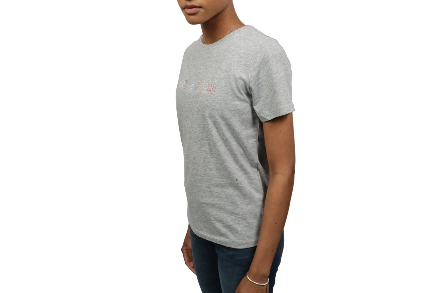 TRY AGAIN TEE - 001019 WOMENS SOFTGOODS NAKD