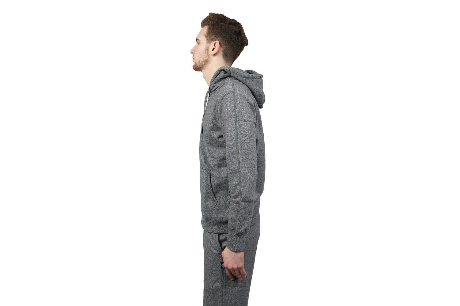 KNIT MID TERRY ZIP HOODIE - RC-3205 MENS SOFTGOODS REIGNING CHAMP